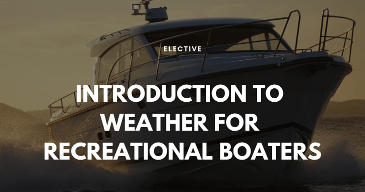 Introduction to Weather for Recreational Boaters 9